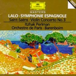 Itzhak Perlman (viool) Orchestre de Paris o.l.v. Daniel Barenboim - Symphonie espagnole voor viool en orkest op.21: 5.Rondo