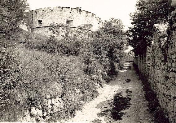 castel beseno anni 60