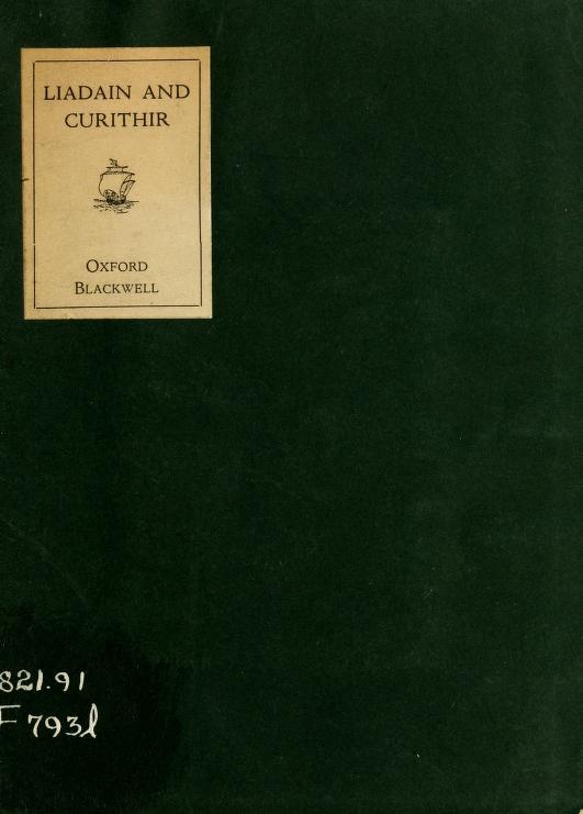 Liadain and Curithir by Moirin Cheavasa