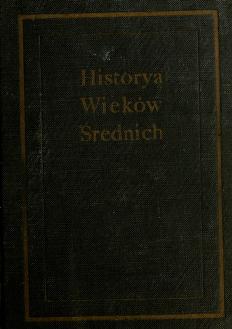Cover of: Historya Wieków Średnich | Tadeusz Korzon