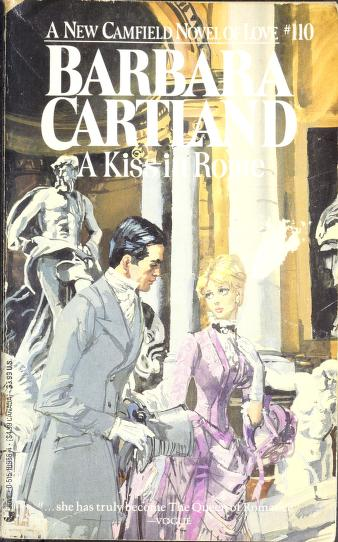 A Kiss in Rome by Barbara Cartland